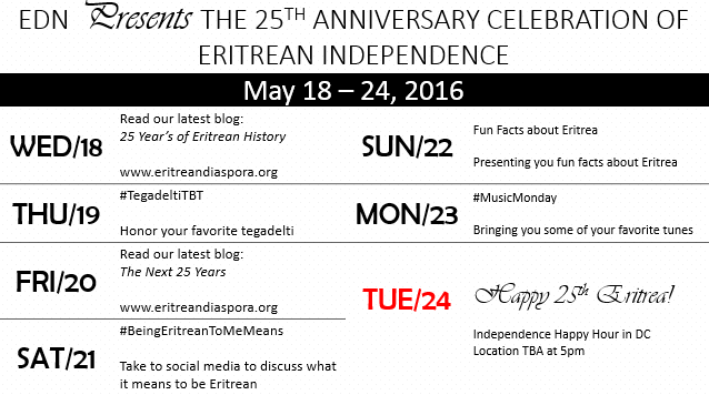Eritrean Independence Social Media Week 2016